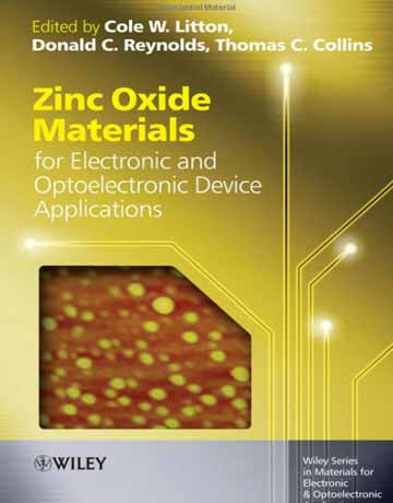 کتاب مواد اکسید روی برای کاربردهای الکترونیکی و دستگاه اپتوالکترونیک