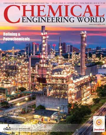 دانلود مجله دنیای مهندسی شیمی Chemical Engineering World - October 2018