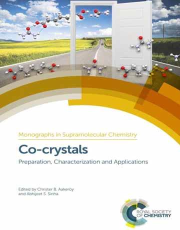 کتاب کوکریستال ها Co-crystals: تهیه، تعیین مشخصات و کاربردها