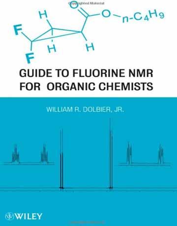 کتاب راهنمای NMR فلورین برای شیمیدان های آلی