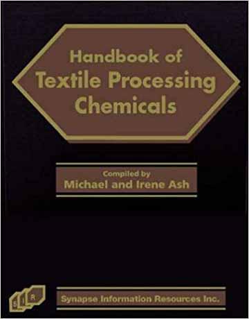 هندبوک مواد شیمیایی پردازش و تولید پارچه و نساجی