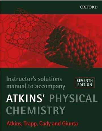 دانلود راهنما و حل المسائل شیمی فیزیک اتکینز ویرایش هفتم