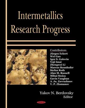 دانلود کتاب پیشرفت تحقیقات ترکیبات بین فلزی