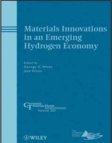 کتاب نوآوری های مواد در اقتصاد هیدروژنی نوظهور