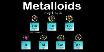 ویژگی های ساختار شبه فلزات جدول تناوبی