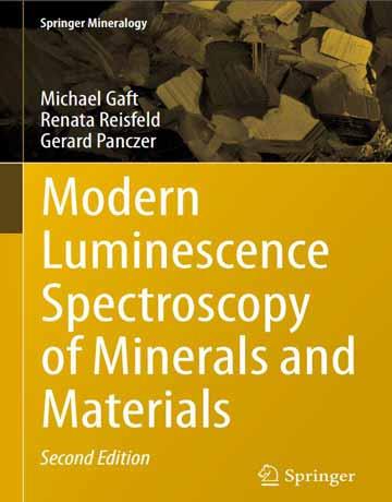 کتاب طیف سنجی لومینسانس مدرن از مواد معدنی ویرایش دوم
