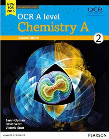 دانلود OCR A level Chemistry A Student Book 2 شیمی عمومی ویرایش دوم