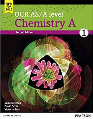دانلود OCR AS/A Level Chemistry A 2015 Book 1 شیمی عمومی ویرایش دوم