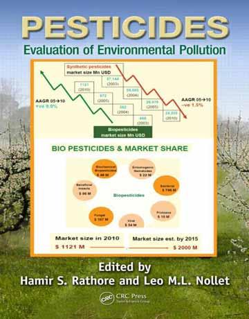 کتاب آفت کش ها: ارزیابی آلودگی محیط زیست