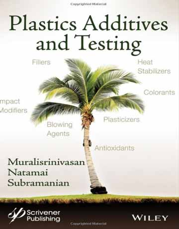 کتاب افزودنی های پلاستیک و آزمایش