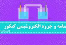 Photo of دانلود جزوه و درسنامه الکتروشیمی کنکور و دوازدهم