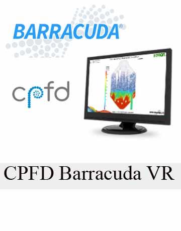 دانلود CPFD Barracuda VR 17.3.1 Win/Linux نرم افزار شبیه سازی راکتور سیالات
