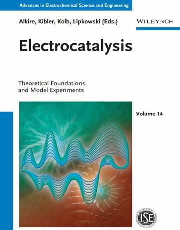 کتاب الکتروکاتالیز: مبانی نظری و آزمایشات مدل