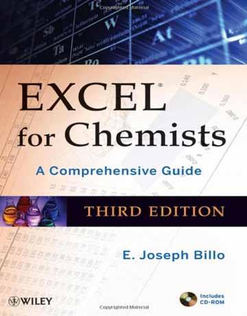 کتاب اکسل برای شیمی دان ها ویرایش سوم: راهنمای جامع