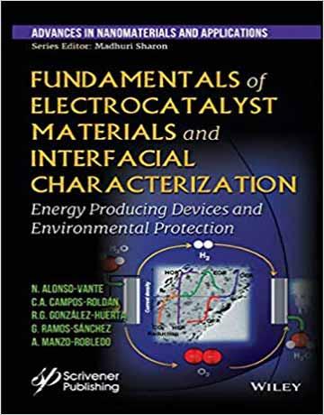 کتاب اصول مواد الکتروکاتالیستی و خصوصیات بین سطحی چاپ 2019