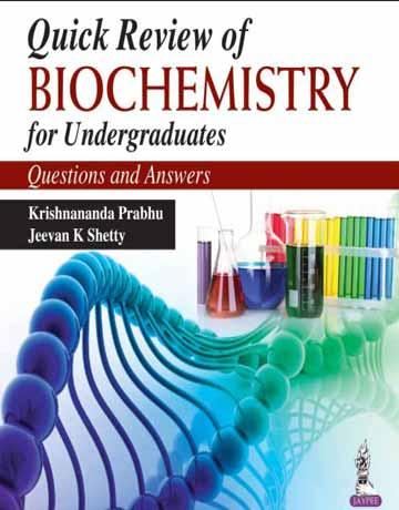 کتاب مرور سریع بیوشیمی برای دانشجویان کارشناسی: پرسش و پاسخ