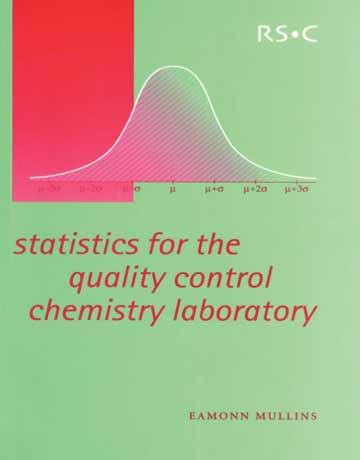 کتاب آمار برای کنترل کیفیت آزمایشگاه شیمی