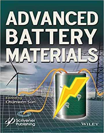 کتاب مواد و ترکیبات باتری پیشرفته چاپ 2019