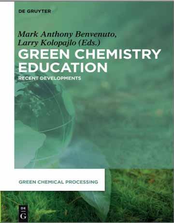 کتاب آموزش شیمی سبز: پیشرفت های اخیر چاپ 2019
