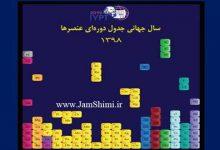 Photo of آغاز سال جهانی جدول تناوبی عناصر IYPT 2019 در ایران