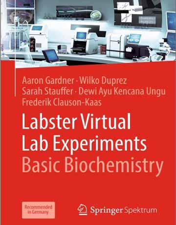 آزمایش های آزمایشگاه مجازی Labster: بیوشیمی پایه چاپ 2019