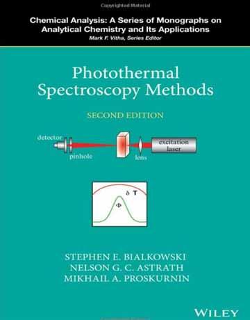 کتاب روش های اسپکتروسکوپی نور گرمایی ویرایش دوم