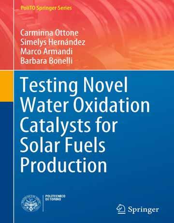 کتاب تست کاتالیست های جدید اکسیداسیون آب برای تولید سوخت های خورشیدی