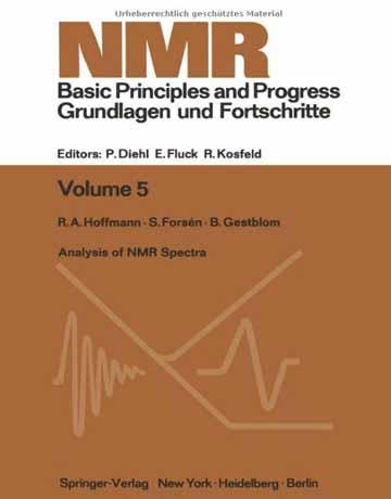 کتاب آنالیز و تحلیل طیف های NMR: راهنما برای شیمیدانان