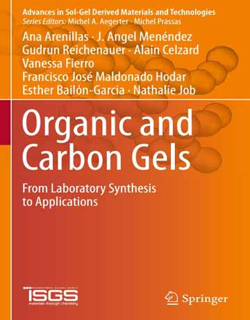 کتاب ژل های آلی و کربن: از سنتز آزمایشگاهی تا کاربرد چاپ 2019