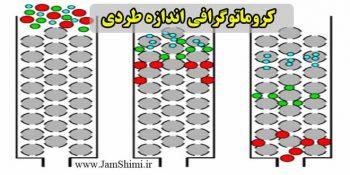کروماتوگرافی اندازه طردی Size Exclusion Chromatography