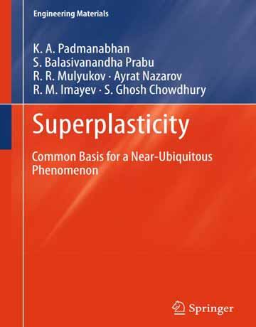 دانلود کتاب سوپرپلاستیسیته Superplasticity چاپ 2018