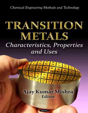 کتاب فلزات واسطه: مشخصات، خواص و کاربردها