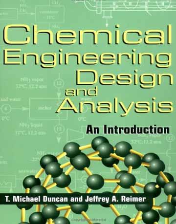 کتاب طراحی و آنالیز در مهندسی شیمی