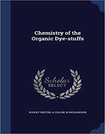 کتاب شیمی رنگدانه های آلی