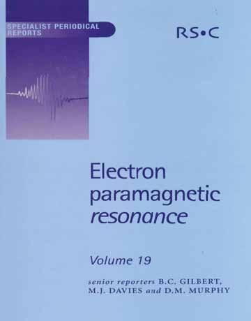 رزونانس پارامغناطیس الکترون جلد 19