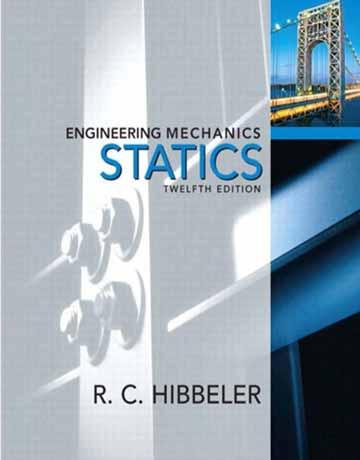 کتاب استاتیک مکانیک مهندسی هیبلر ویرایش دوازدهم