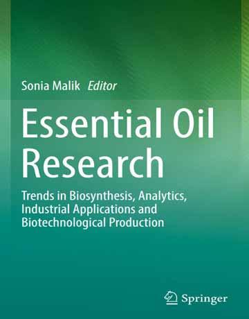 پژوهش های ضروری روغن: روند بیوسنتز، آنالیز، کاربردهای صنعتی و تولید بیوتکنولوژی