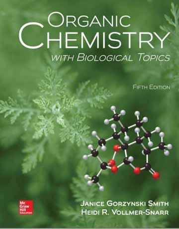 کتاب شیمی آلی با موضوعات بیولوژیکی ویرایش 5 پنجم جانیس اسمیت