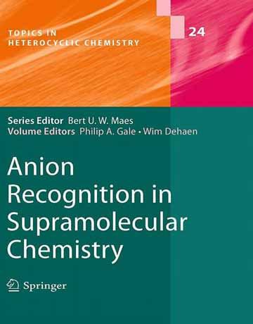 کتاب شناسایی آنیون در شیمی ابرمولکولی