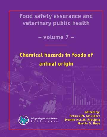 کتاب خطرهای شیمیایی در غذاهای با منشاء حیوانی