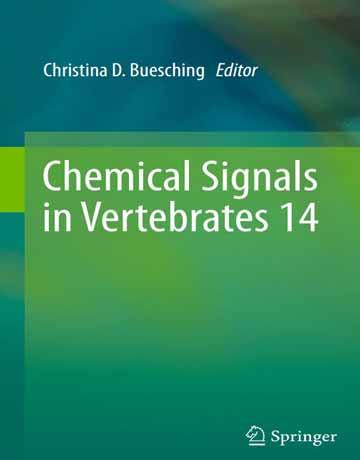 کتاب سیگنال های شیمیایی در مهره داران 14 چاپ 2019