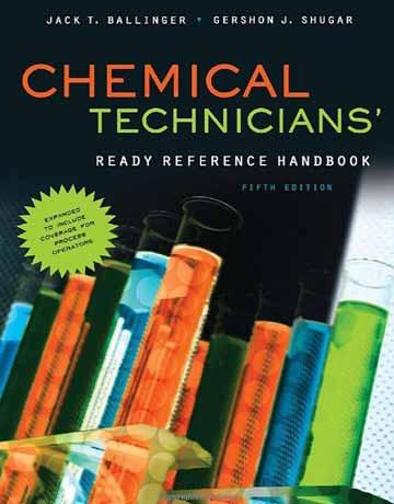 هندبوک مرجع آماده تکنسین های شیمیایی و شیمی ویرایش پنجم