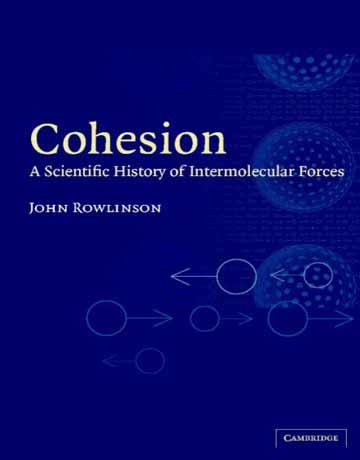 جاذبه مولکولی Cohesion: تاریخ علمی نیروهای بین مولکولی