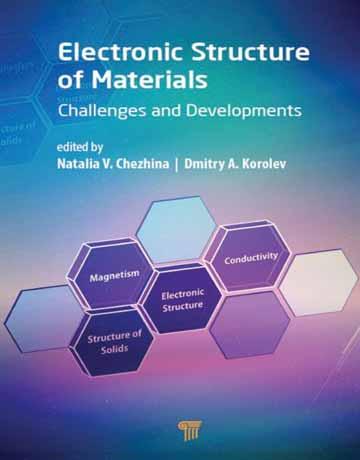 کتاب ساختارهای الکترونی مواد: چالش ها و توسعه چاپ 2019