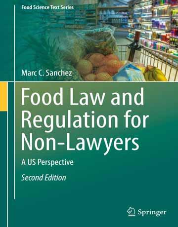 کتاب قانون و مقررات غذایی برای غیر وکیل ویرایش دوم