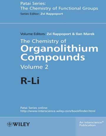 کتاب شیمی ترکیبات اورگانولیتیم R-Li جلد دوم