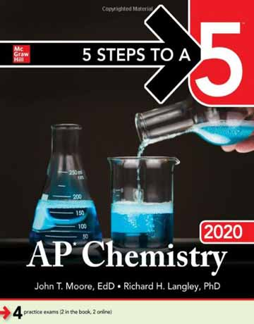 Five Steps to a 5: AP Chemistry 2020 کتاب شیمی عمومی مور