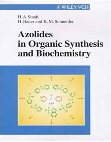 آزولیدها Azolides در سنتزهای آلی و بیوشیمی