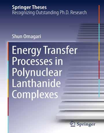 فرایند انتقال انرژی در کمپلکس های لانتانیدی چند هسته ای