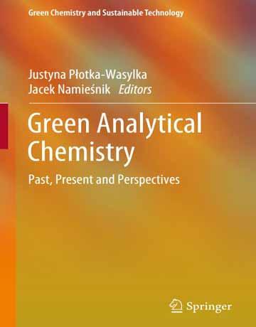 کتاب شیمی تجزیه سبز: گذشته، حال و چشم اندازها 2019